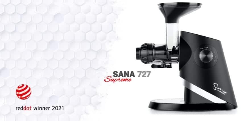 Sana Supreme zwycięzca prestiżowej nagrody Red Dot Award 2021 roku